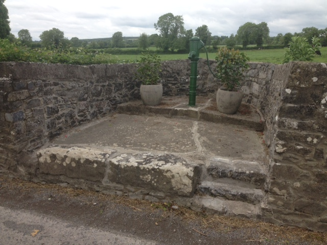 Pump Area on Fethard Road restored and painted
