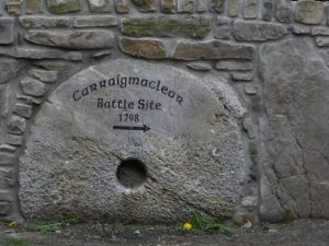 carrickmaclear battle site stone